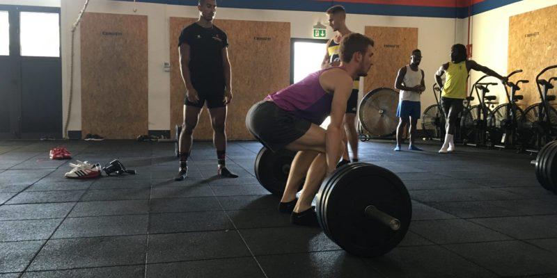 slancio strappo alzate sollevamento pesi