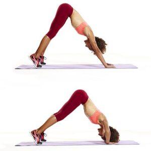 esercizi a corpo lobero deltoidi v push up