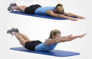 esercizi a corpo libero lombari
