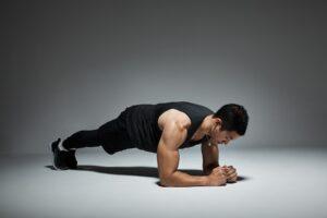 esercizi a corpo libero plank