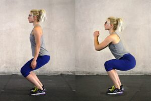 mobilità articolre squat