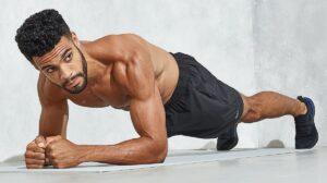 plank come allenamento per la forza a casa