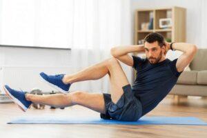 twist come allenamento per la forza a casa