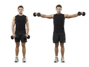 alzate laterali-allenamento