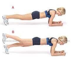 Scheda illustrativa per compiere il side plank